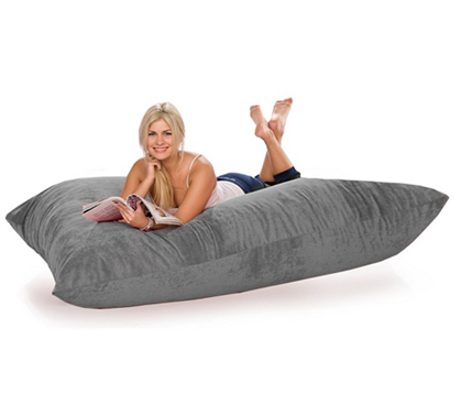 Giant Foam Floor Lounger Dorm Furniture College Seating