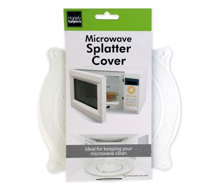 Dorm Microwave Splatter Cover College Cooking Supplies
