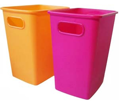 Trash Cans And Wastebaskets Interesting 60 Gallon College Wastebasket Dorm Room Living Necessities Essentials