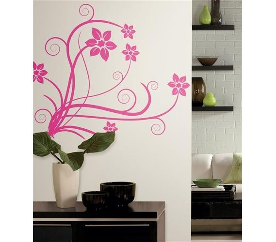 deco swirl college wall art peel n stick dorm decor. Black Bedroom Furniture Sets. Home Design Ideas
