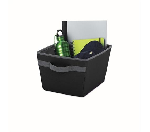 Handy Dorm Storage Bin Black Useful Dorm Storage Item