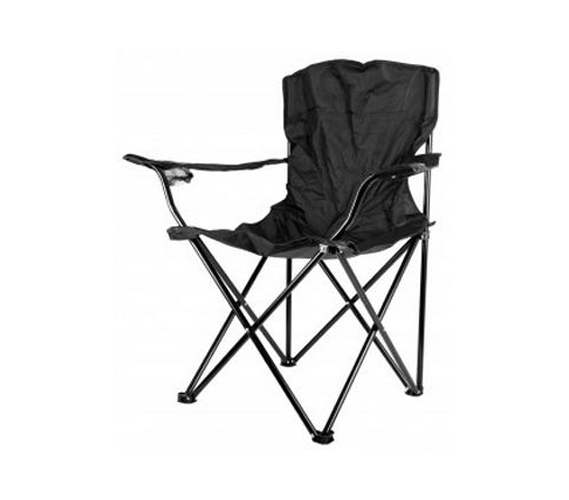 Folding Black College Chair With Travel Bag