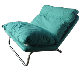 The LUX Lounger Sofa (Limited Edition - by College Ave) - Green Dorm Seat Comfy Cushioning