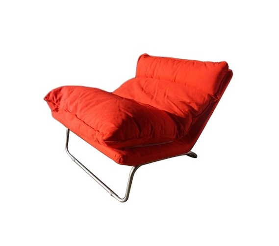 The Lux Lounger Sofa Limited Edition By College Ave Red
