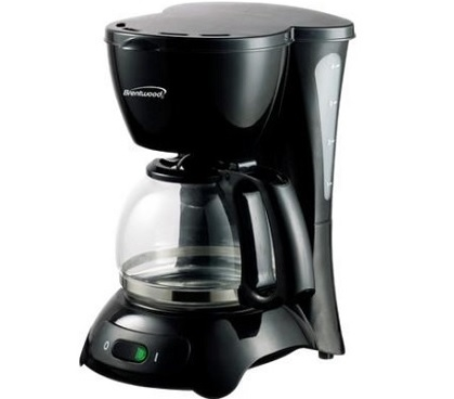 4 Cup Coffee Maker by Continental Electric quality but cheap priced dorm appliance perfect for ...