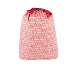 Alice Coral Pink - College Laundry Bag