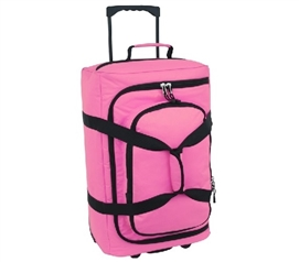 Storage Trunk with Wheels Micro Monster Bag Trunk - Pink Dorm Essentials