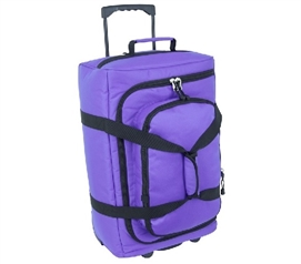 Storage Trunk With Wheels Micro Monster Bag Dorm Trunk - Purple Dorm Essentials