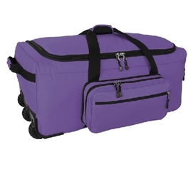 Storage Trunk Dorm Trunk with Wheels Mini Monster Bag Trunk - Purple