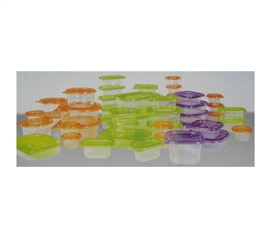 104-Piece Food Container Super Set