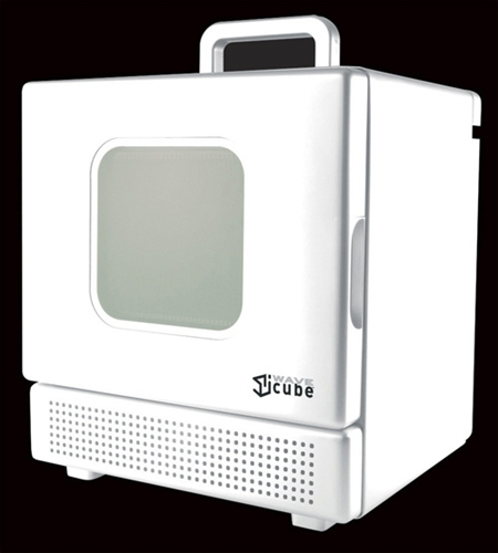 600 Watt Personal Desktop Microwave White College