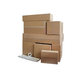 Shipping to College - UPS Ship Labels & Box Kit - Don't Jam A Trunk Full, Just Ship!