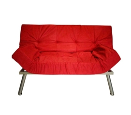 The College Cozy Sofa (Mini-Futon) - Red