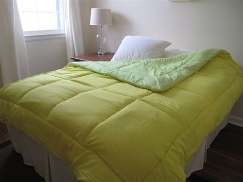 Dorm Necessities For College Students Lime Green Yellow