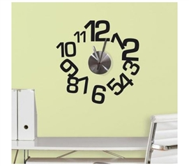 Peel N Stick - Contemporary Clock Decals