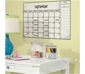 Peel N Stick - Scroll Calendar Giant Decal