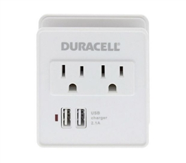 Outlet And USB Station - Dual