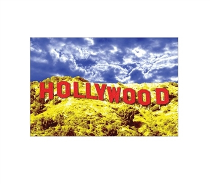 Hollywood Red Poster