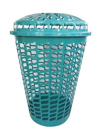 Holds Your Dirty Clothes - Tall Round Laundry Hamper ...