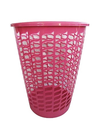 Tall Round Laundry Hamper Pink Dorm Items College