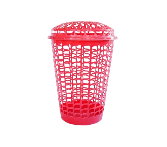 Tall Round Laundry Hamper Red Needed For College Laundry