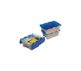 Multi-Purpose Dorm Food Crate College Essential Storage Box