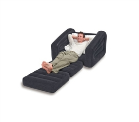 Great for Guests - 2 in 1 Pull-Out Dorm Furniture Lounger - Cool College Stuff
