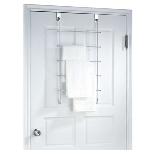 Over The Door Towel Rack Bathroom: Three Racks For Your Towel, Wash Cloth & Hand Towel