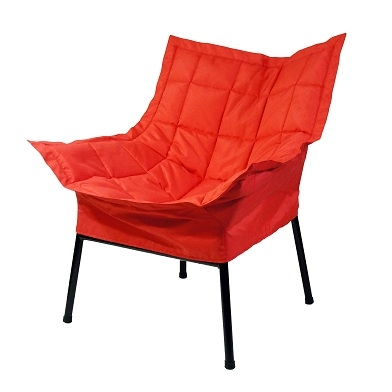 Give Friends Some Seating Dorm Room Padded fort Chair