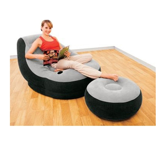 Cool And Comfortable Ultimate Dorm Lounger Amp Foot Rest