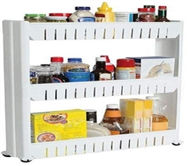 Make Use Of Unused Space - The Sliding Dorm Storage Tower - Makes Storage Easier