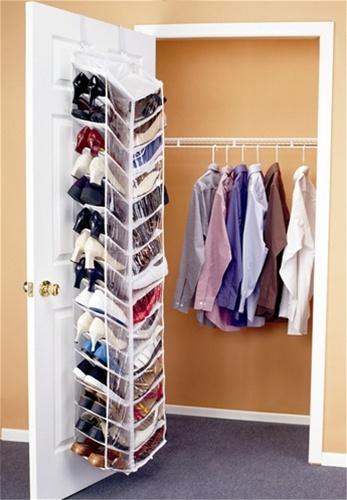 Shoes Away Over The Door Organizer Dorm Room Shoe Organizer