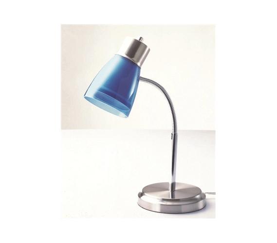 Keep Dorm Bright Gooseneck College Desk Lamp Blue