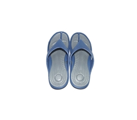 Communal Showers Essential - Traction Shower Sandals - Gray/Blue - Needed Dorm Items