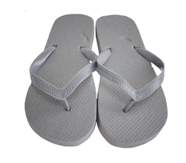 Simple College Style - Gray with Gray Strap - Guy's Shower Sandal