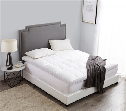 Twin Extra Long Down Top Featherbed High Quality Bed