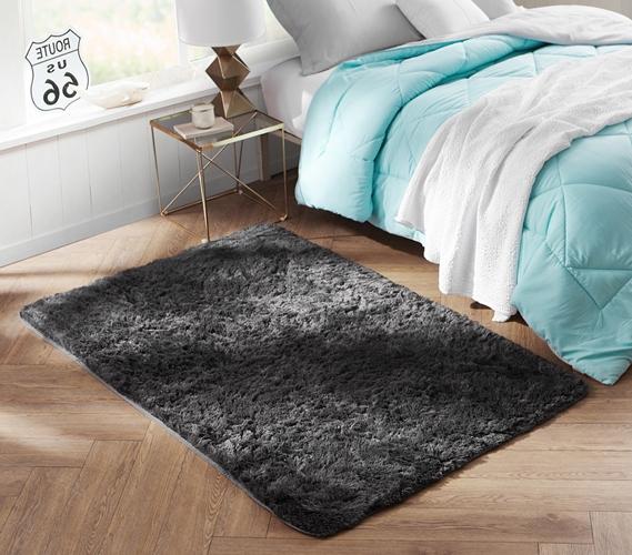 A Dorm Essential College Plush Rug Keep Feet Comfortable