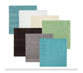 Dorm must-have - Face Towel - Woven Terry Cloth 2-Pack