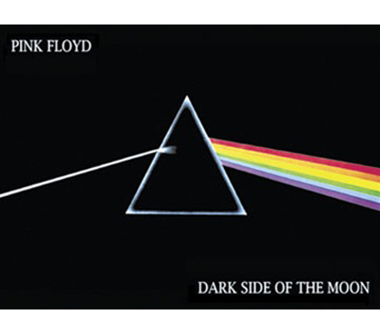 Cheap College Pink Floyd Dark Side Moon Poster
