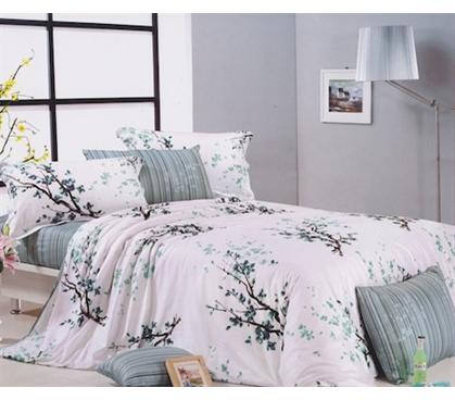 Verdure Fields Twin Xl Comforter Set Dorm Room Bedding
