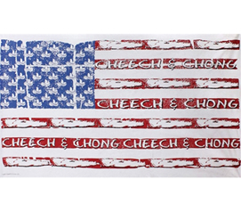 Cheech and Chong U.S. Flag Tapestry