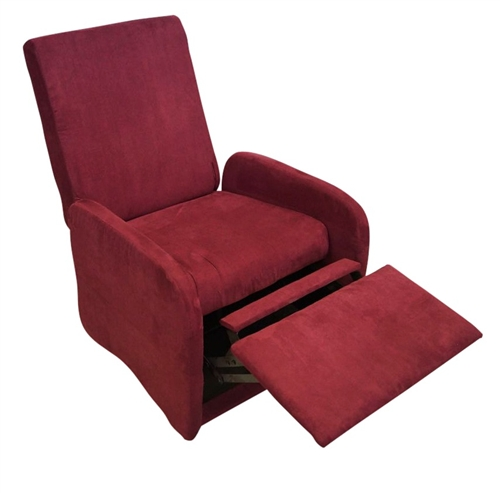 The College Recliner Crimson