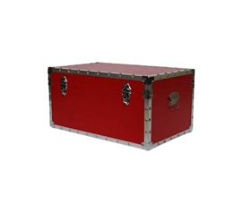 The Classic Red College Trunk - Cool Dorm Items Like Trunks Are Essentials