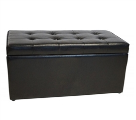 The Dorm Bench - Storage Seating - Black