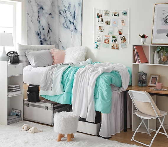 The 44 Piece College Dorm Essentials Set Totally