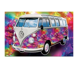 VW Californian Camper - Love Poster