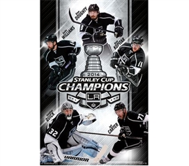 2014 Stanley Cup® - Champs - LA Kings Poster