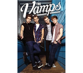 Cheap Items For College - The Vamps Poster - Wall Decor For Dorms