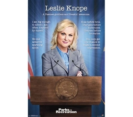 Fun Dorm Supplies - Parks and Rec - Leslie Poster - Buy Posters For College