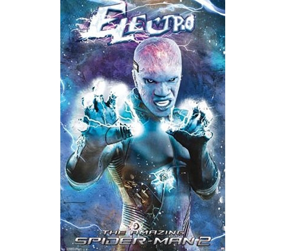 Amazing spider man 2 electro poster buy college supplies for Buy posters online cheap